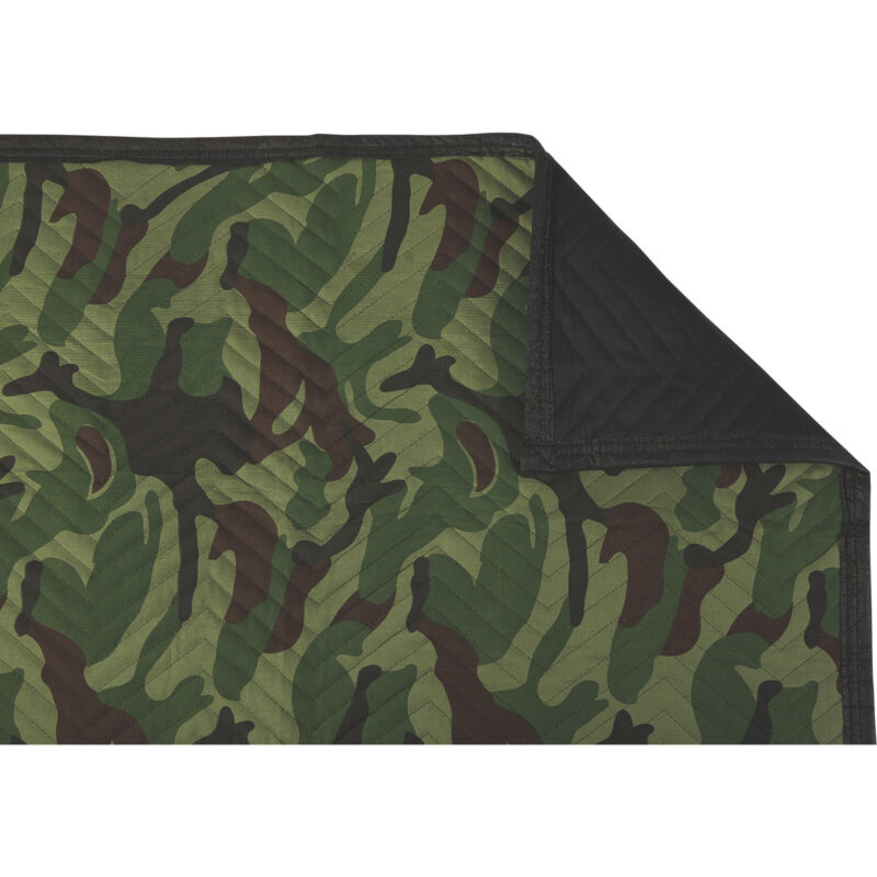 Ironton Woven Moving Blanket - Camo, 72in.L x 54in.W