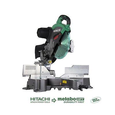 Hitachi C12RSH2 15-Amp 12-Inch Dual Bevel Sliding Compound Miter Saw with