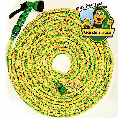 Busy Bee's Expanding Garden Hose Expandable Pipe With Spray Gun 50/75/100/200ft