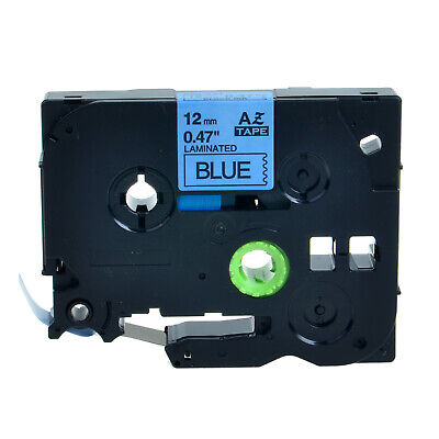 1pk Tz-531 Black On Blue Label Tape Tze-531 For Brother P-touch Pt-1880 12mm8m