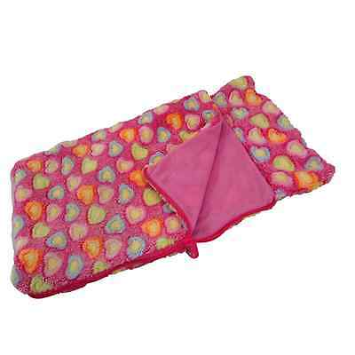 """PINK SLEEPING BAG Fits 18"""" American Girl Doll Clothes, Clothing & Accessories"""