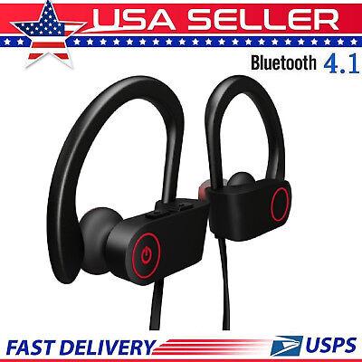 Waterproof Bluetooth Earbuds Sports Wireless Headphones in Ear Headsets USA