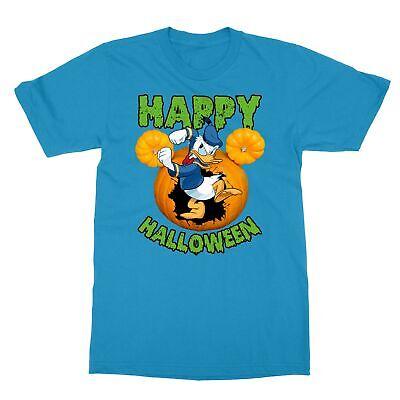 Disney Halloween Tee Shirts (Donald Duck Disney Happy Halloween Men's)