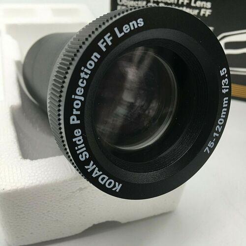 KODAK SLIDE PROJECTOR FF LENS ZOOM 3.5/75-120 mm - Excellent Condition