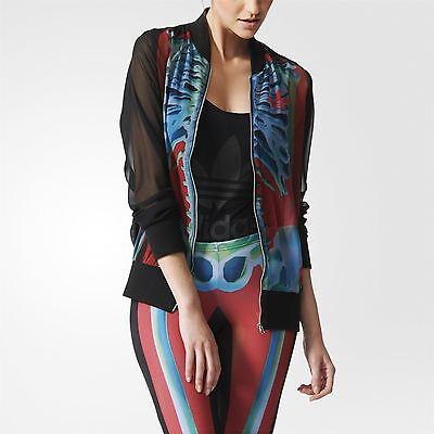 Rita Ora Adidas Originals X Ray Skeleton Jacket Polyester Lightweight Gym Zip