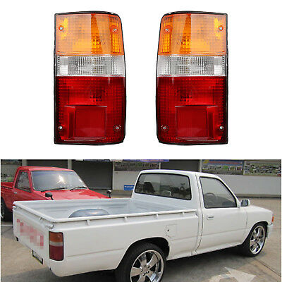 Duo Lamp Tail Light - Pair Tail Light Rear Lamp for Toyota Hilux MK3 LN RN YN  Pickup 2-4WD 1989-1995