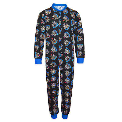 Newcastle United FC Official Football Gift Boys Kids Pyjama All-In-One