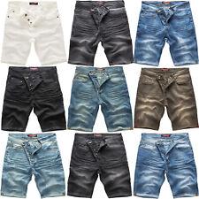 Rock Creek Herren Jeans Short Kurze Bermuda Shorts Hose Denim Stonewashed M50