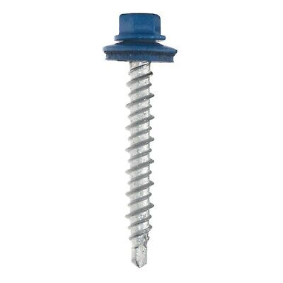5 Bags 250pcsbag 1-12in Or 2in Metal Roofing Screws 17 Colors Available