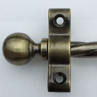 Set Di 13 1cm Antico Sfera In Ottone Ornamento Terminale Cima Scala Aste R02rob -  - ebay.it