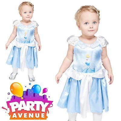 Princess Cinderella Toddler Fancy Dress Disney Fairy Tale Kids Costume ()