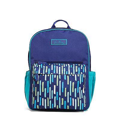 Vera Bradley Small Colorblock Backpack in Katalina Showers