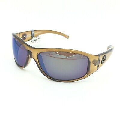 ed92bf306bf6 Salt Life Marathon Crystal Root Beer Sunglasses W  Copper Green Polarized  Lens