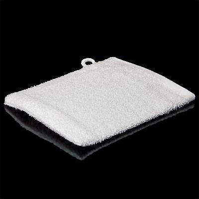 10 Waschlappen 380 g/qm Waschhandschuh Weiss