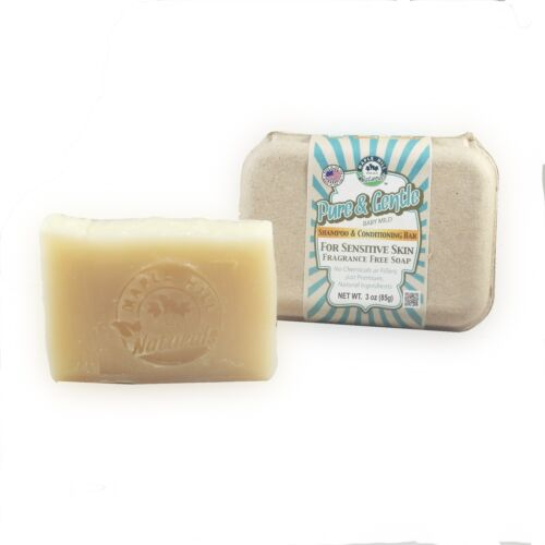 Pure & Gentle Shampoo and Conditioning Bar