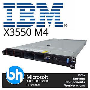 IBM-POTENTE-1u-x-3550-M4-Servidor-2x-Ocho-Core-e5-2650-2-00ghzGHz-96gb-RAM-M5110