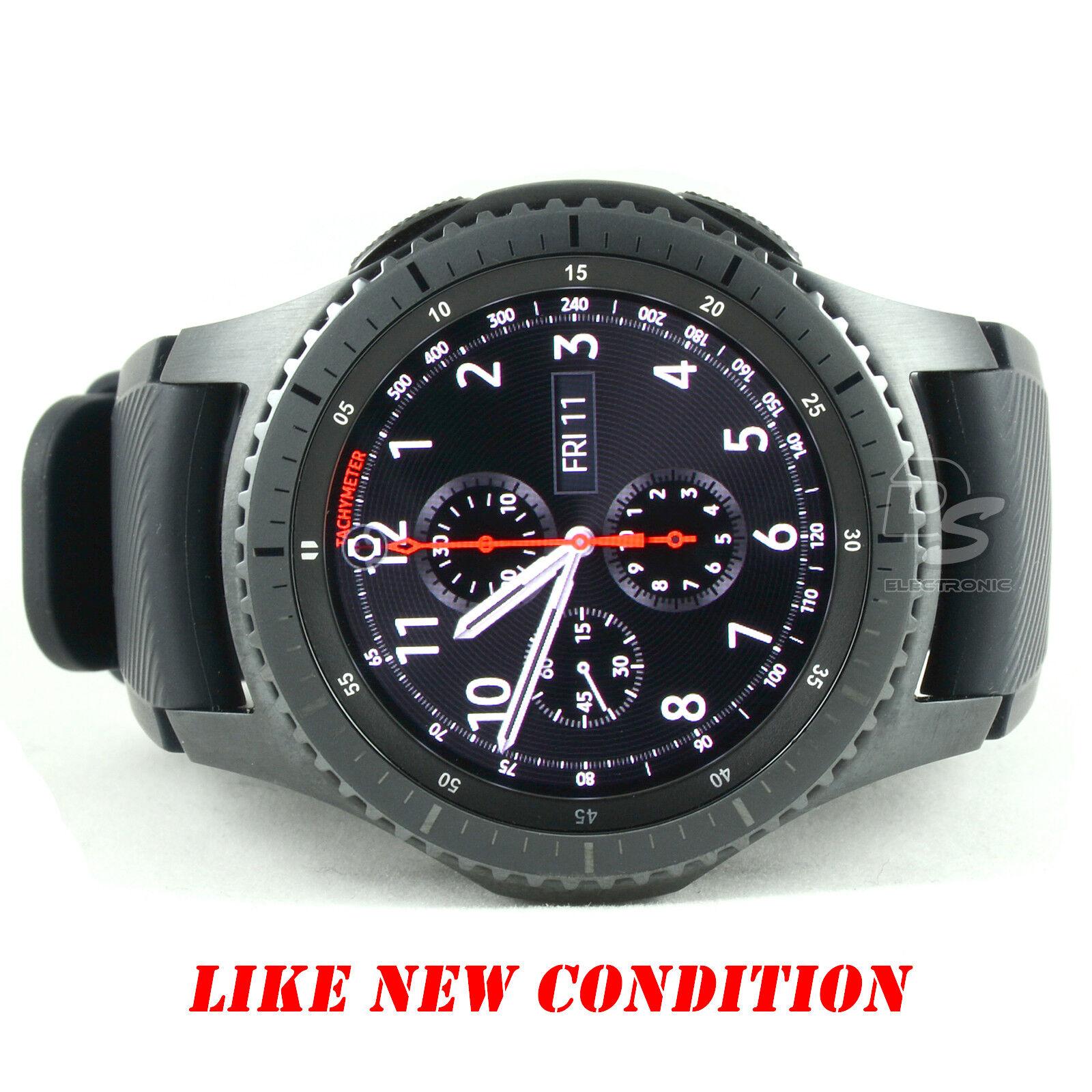 Samsung Gear S3 Frontier SM-R760 WIFI Bluetooth Smart Watch SM-R760NDAAXAR
