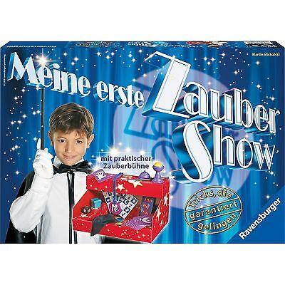 Ravensburger Meine erste Zaubershow, Experimentier- und Zauberkasten