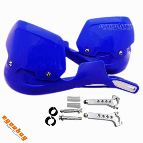 Dirt Bike ATV Motorcross Universal Handlebar Blue Hand Guards with Mounting Kit