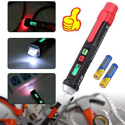 12-1000v Non Contact Ac Tester Pen Voltage Detector Sensitivity Livenull Wire
