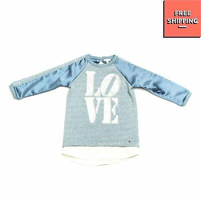 RRP €105 MICROBE By MISS GRANT Sweatshirt Size 2Y / 86-92CM Crepe Trim Lame