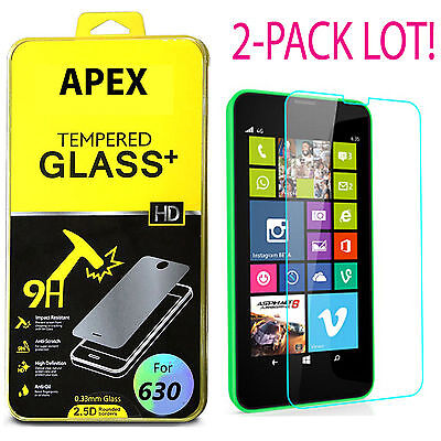 Premium Tempered Glass Screen Protector Film Guard For Nokia Lumia 635 630  ()
