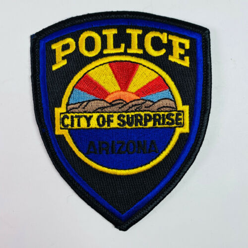 Surprise Police Maricopa County Arizona Patch