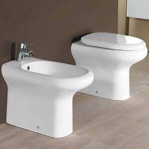 Sanitari filo parete in ceramica arredo bagno salvaspazio for Sanitari filo parete