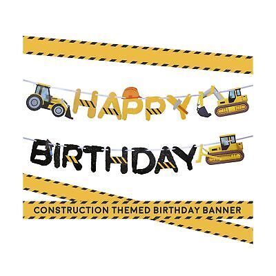 Construction Birthday Party Supplies Banner by Aliza | Baby Boy Toddler Kids ...](Baby Boy Party Supplies)