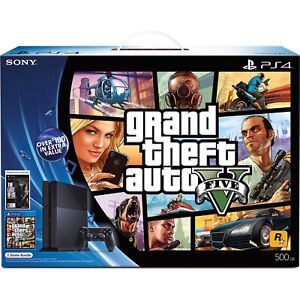 SELL ME YOUR PS4 W/ GAMES (GTA 5)