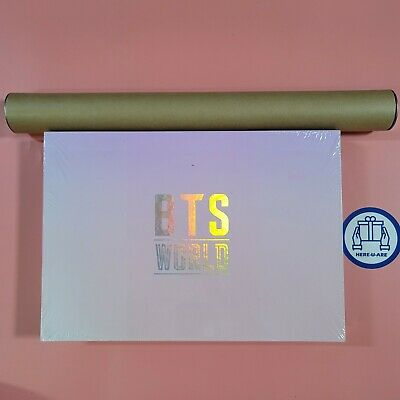 BTS world OST Limited Edition SEALED NEW package with poster Photocard rare oop