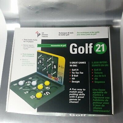 Golf 21, 5 office party games in 1 Tic Tac Toe B-Ball, 101 Straight. performance](Office Party Games)