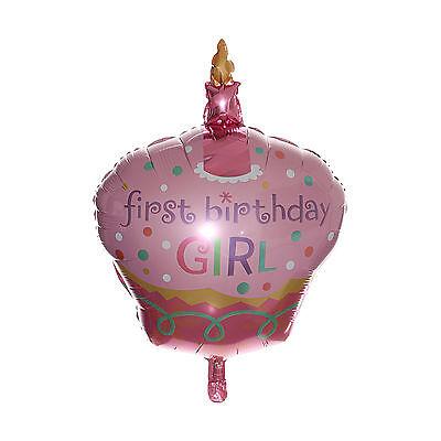 81.3cm Kuchen Folien Ballon Party Erstens Geburtstag Mädchen 1st Baby Dekor