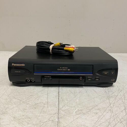 Panasonic PV-V4022 4 Head Video Cassette Recorder VCR VHS Player NO REMOTE