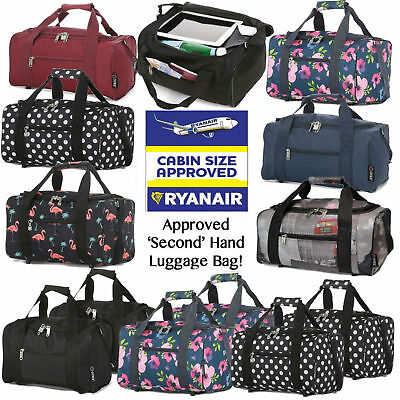 Ryanair 40x25x20cm Carry Hand Cabin Luggage Bag Travel Holdall Small Under Seat
