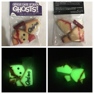 BIMTOY OBVIOUS CAUSE OF DEATH GHOSTS BY REIS O'BRIEN PRE TINY GHOST GITD/SIGNED (Ghost Death)