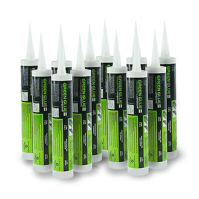 Green Glue Soundproofing Damping Compound - Case Of 12 Tubes