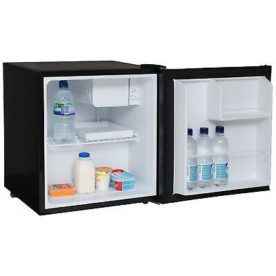 SIA AMZTT01BL 47 Litre Black Counter Table Top Mini Drinks Fridge With Ice Box