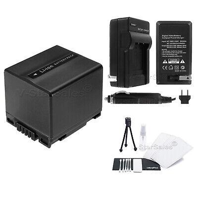 CGA-DU14 Battery + Charger + BONUS for Panasonic PV-GS31 GS33 GS34 GS35 GS39 Cga Du14 Lithium Ion Battery
