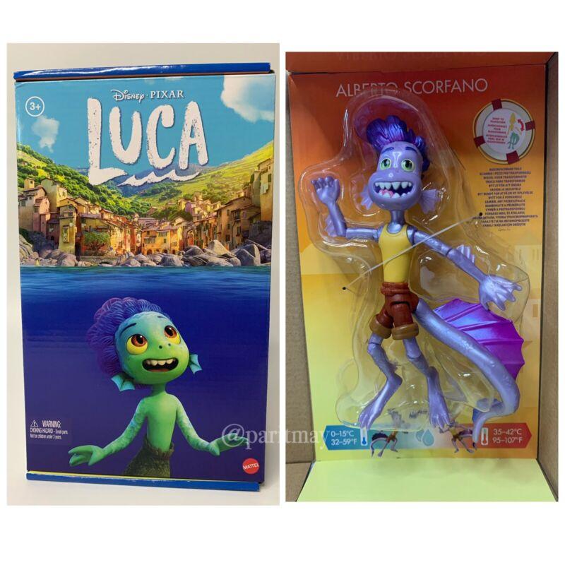 "Disney Pixar Luca : Alberto 7"" Posable Figure With Color Change (SHIPS NOW)"