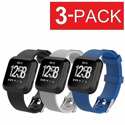 3-PACK Replacement Bracelet Watch Band Strap Fitness For Fitbit Versa Fit Tech Parts & Accessories