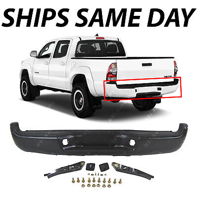 NEW Primered - Complete Rear Steel Step Bumper for 2005-2015 Toyota Tacoma 05-15