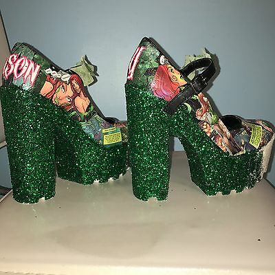 Custom made poison ivy heels](Poison Ivy Customes)