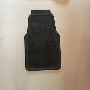 Front & Rear Black Car Mats