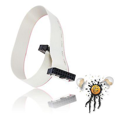 Flachbandkabel / Ribbon Cable 16 polig / core FC16P IDC Buchse / Socket 300 mm