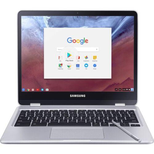 "Samsung 12.3"" Chromebook Plus Touch Screen- 4GB memory- 32GB eMMC Flash Memory Platinum Silver XE513C24-K01US"