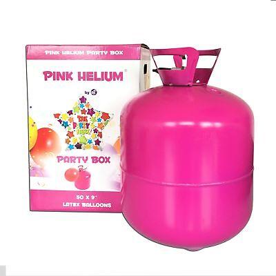 Helium Ballongas 420L für ca. 50 Luftballons Ø 23 Heliumflasche Hochzeit Party