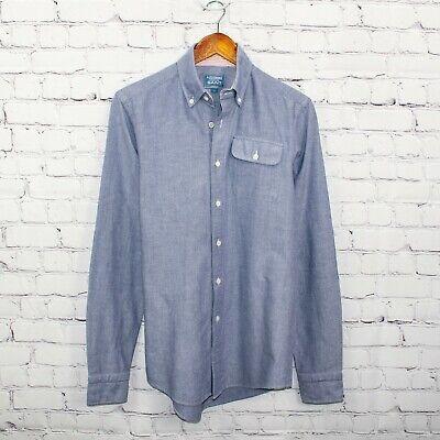 GANT by Michael Bastian Button Down Shirt Blue Oxford Stockbridge Size Small