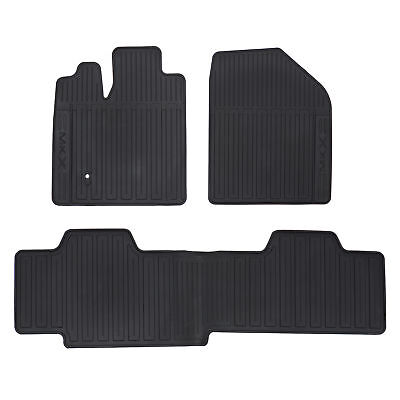 OEM NEW Front  Rear All Weather Floor Mats Black 07 10 Lincoln MKX 7A1Z7813300A