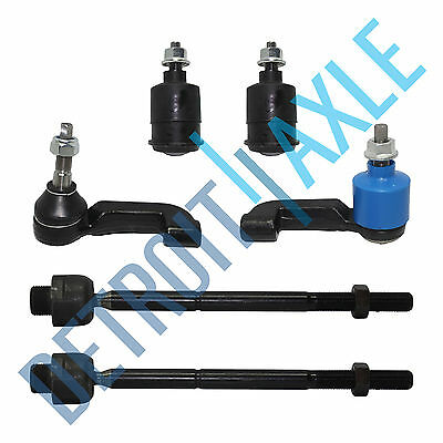 All 4 Brand New Tie Rods  Both 2 Lower Ball Joints for 2002 04 Jeep Liberty